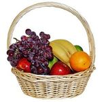 Fruit basket - flowers and bouquets on roza.kharkov.ua