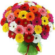 101 гербера в букете - цветы и букеты на roza.kharkov.ua