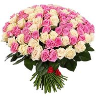 Bouquet of 151 roses - flowers and bouquets on roza.kharkov.ua