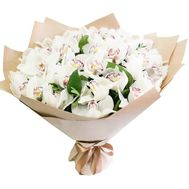 Exclusive bouquet of orchids - flowers and bouquets on roza.kharkov.ua