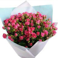 Ностальгический букет роз - цветы и букеты на roza.kharkov.ua