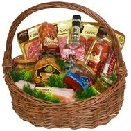 New Year's gift basket №3 - flowers and bouquets on roza.kharkov.ua