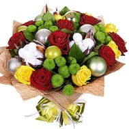 Original New Year Bouquet - flowers and bouquets on roza.kharkov.ua