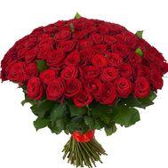 151 красная роза - цветы и букеты на roza.kharkov.ua