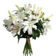Bouquet of lilies - flowers and bouquets on roza.kharkov.ua