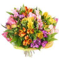 Букет из 17 альстромерий - цветы и букеты на roza.kharkov.ua