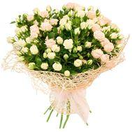 Букет из 19 кустовых роз - цветы и букеты на roza.kharkov.ua