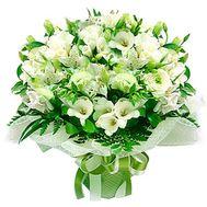 Букет из альстромерий и роз - цветы и букеты на roza.kharkov.ua