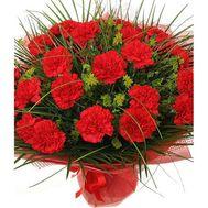 Букет из гвоздик - цветы и букеты на roza.kharkov.ua