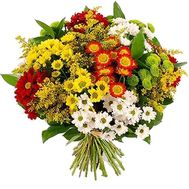 Bouquet of chrysanthemums - flowers and bouquets on roza.kharkov.ua