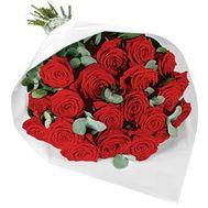 Букет из красных роз - цветы и букеты на roza.kharkov.ua