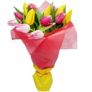 Букет из тюльпанов - цветы и букеты на roza.kharkov.ua