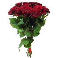 Bouquet of red roses - flowers and bouquets on roza.kharkov.ua