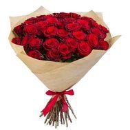 Букет красных роз - цветы и букеты на roza.kharkov.ua