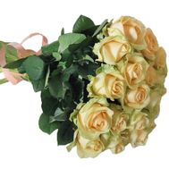 Bouquet of cream roses - flowers and bouquets on roza.kharkov.ua