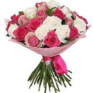 Букет разноцветных роз - цветы и букеты на roza.kharkov.ua