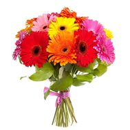 Buy bouquet of gerberas - flowers and bouquets on roza.kharkov.ua