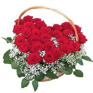 Сердце цветов - цветы и букеты на roza.kharkov.ua