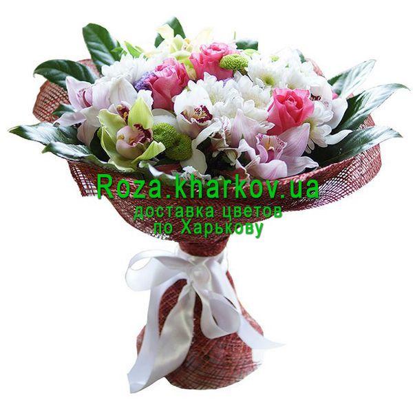 Двор прайс, букет из 3 орхидей цена харьков