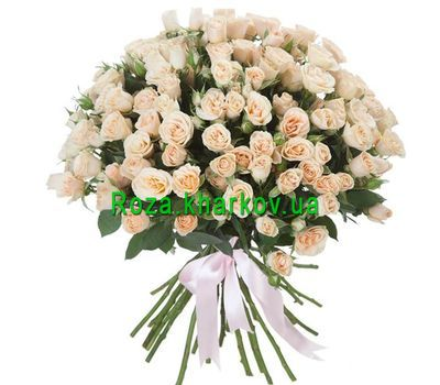 """Bouquet of 25 roses"" in the online flower shop roza.kharkov.ua"