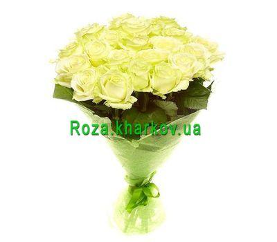 """""""Букет белых роз"""" в интернет-магазине цветов roza.kharkov.ua"""