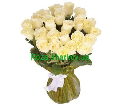 """""""Bouquet of imported roses"""" in the online flower shop roza.kharkov.ua"""