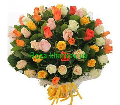 """Bouquet of 51 roses"" in the online flower shop roza.kharkov.ua"