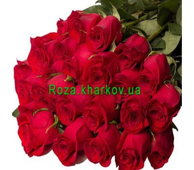 """Bouquet of imported meter-high roses"" in the online flower shop roza.kharkov.ua"