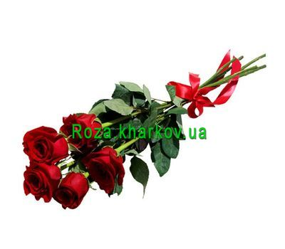 """""""Bouquet of red roses"""" in the online flower shop roza.kharkov.ua"""