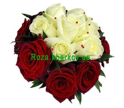 """Bouquet of roses"" in the online flower shop roza.kharkov.ua"