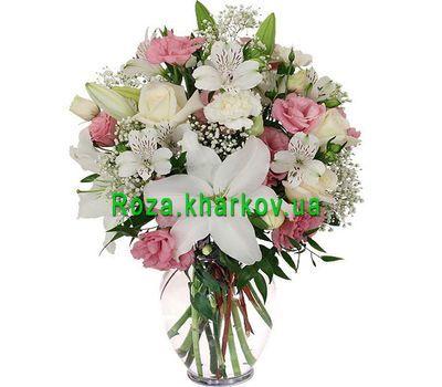 """""""Букет из роз и альстромерий"""" в интернет-магазине цветов roza.kharkov.ua"""