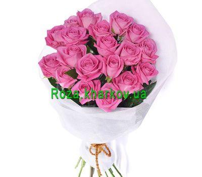 """""""Букет из розовых роз"""" в интернет-магазине цветов roza.kharkov.ua"""