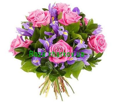 """Bouquet of spring flowers"" in the online flower shop roza.kharkov.ua"