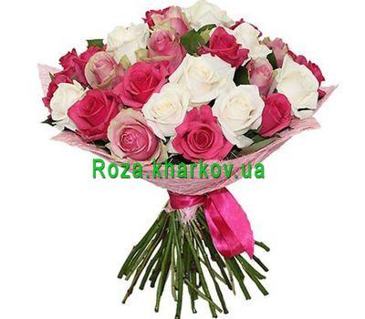 """""""Букет разноцветных роз"""" в интернет-магазине цветов roza.kharkov.ua"""