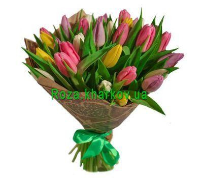 """""""Букет тюльпанов"""" в интернет-магазине цветов roza.kharkov.ua"""