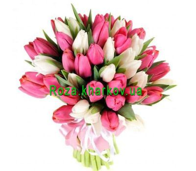 """Bouquet of Tulips"" in the online flower shop roza.kharkov.ua"