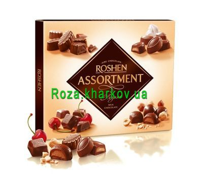 """Sweets Assorti Roshen"" in the online flower shop roza.kharkov.ua"