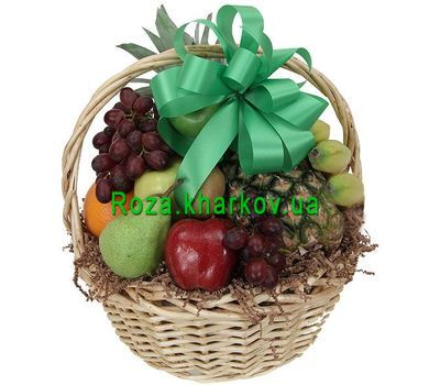 """Fruit basket with pineapple"" in the online flower shop roza.kharkov.ua"