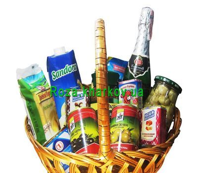 """Корзина продуктов на подарок"" в интернет-магазине цветов roza.kharkov.ua"