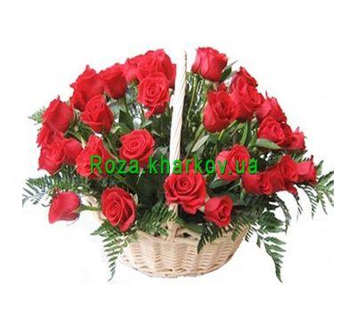 """""""Корзина роз"""" в интернет-магазине цветов roza.kharkov.ua"""