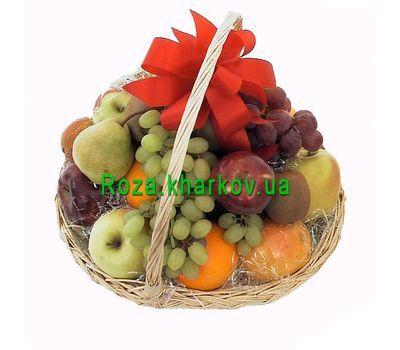 """""""Fruit Basket"""" in the online flower shop roza.kharkov.ua"""