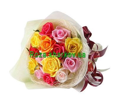 """""""Beautiful bouquet of roses"""" in the online flower shop roza.kharkov.ua"""