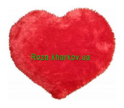 """Soft toy in the form of heart"" in the online flower shop roza.kharkov.ua"
