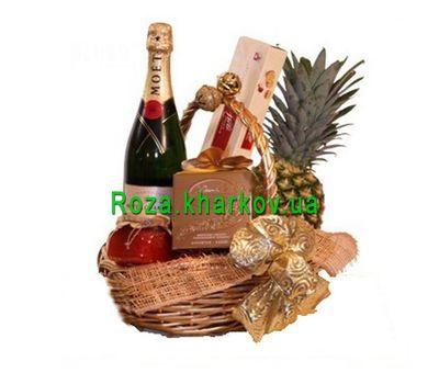 """""""Подарочная корзина для женщин"""" в интернет-магазине цветов roza.kharkov.ua"""