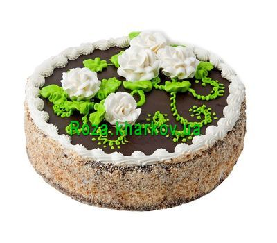 """Cake from the bakery"" in the online flower shop roza.kharkov.ua"