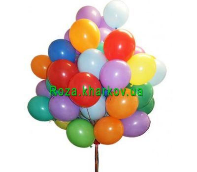"""Balloons"" in the online flower shop roza.kharkov.ua"
