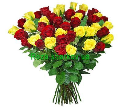 """Bright bouquet of roses"" in the online flower shop roza.kharkov.ua"