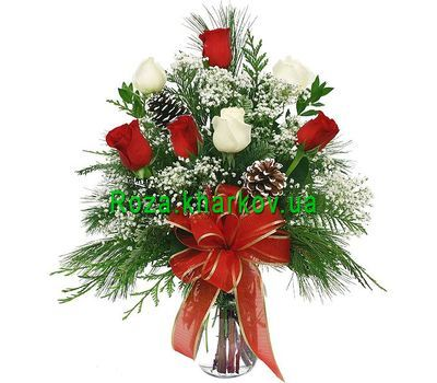 """Winter Bouquet"" in the online flower shop roza.kharkov.ua"