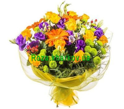 """Bouquet Warm wishes"" in the online flower shop roza.kharkov.ua"