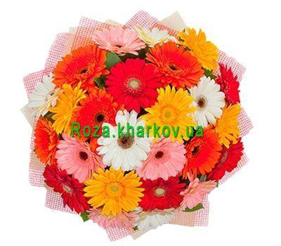 """Bouquet gerberas"" in the online flower shop roza.kharkov.ua"